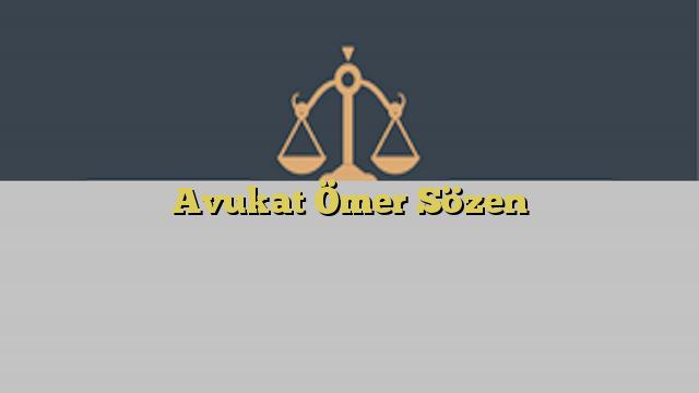Avukat Ömer Sözen