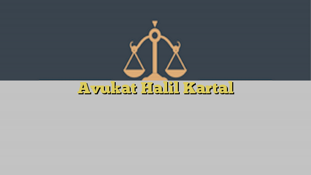 Avukat Halil Kartal