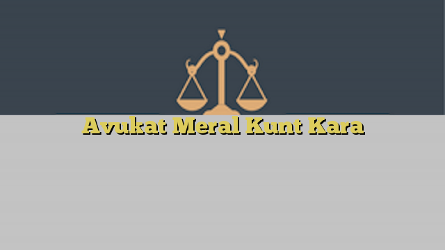 Avukat Meral Kunt Kara