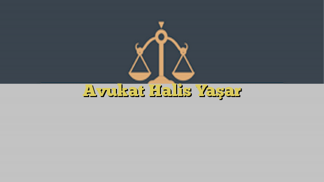 Avukat Halis Yaşar