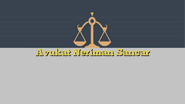 Avukat Neriman Sancar